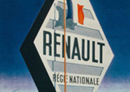 Nationalised Renault sign
