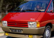 Early red Renault Espace I
