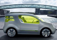 Renault electric vehicle concept car