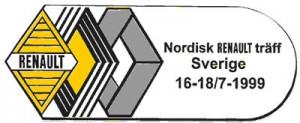 1999 Renault Sverige