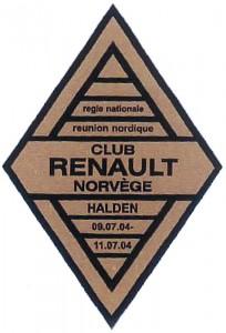 Club Renault Norvége 2004
