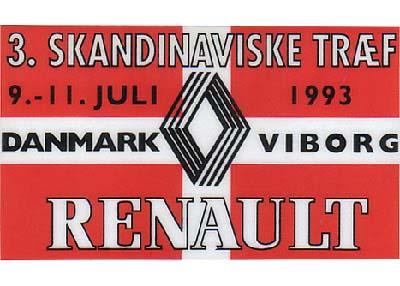 Renault træf i Danmark